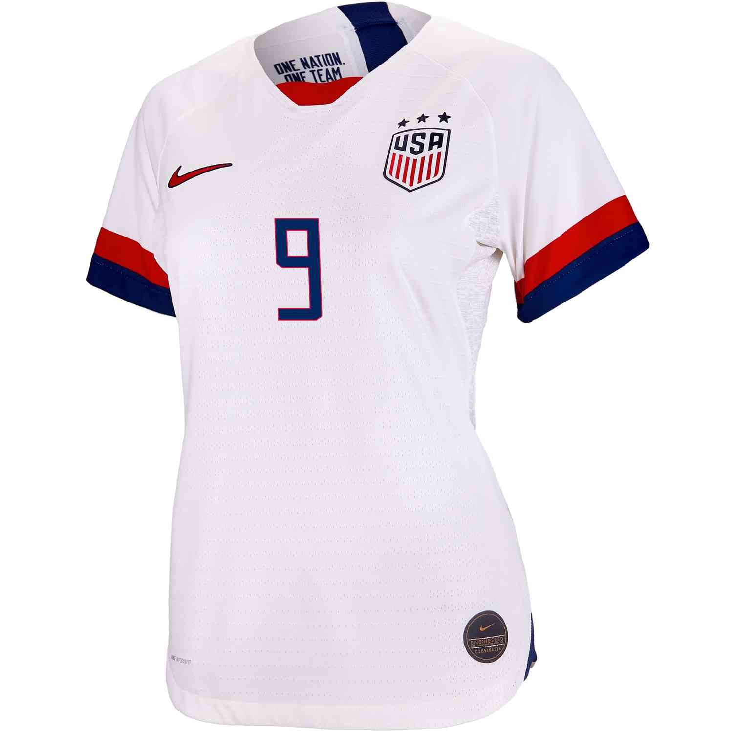 cheaper 6084d cac8b 2019 Womens Lindsey Horan USWNT Home Match Jersey - Soccer Master