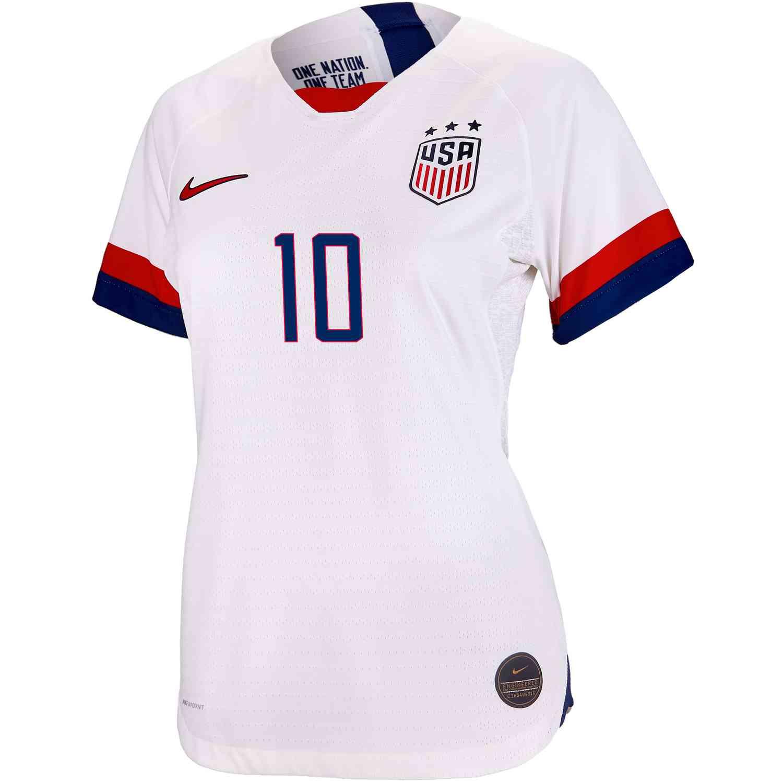 best cheap 557c6 50514 2019 Womens Carli Lloyd USWNT Home Match Jersey - Soccer Master