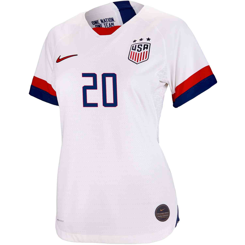 promo code 5aa93 746c1 2019 Womens Abby Wambach USWNT Home Match Jersey - Soccer Master