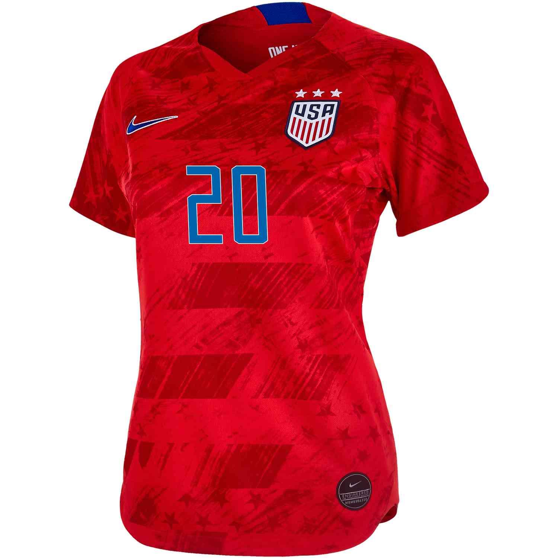 new arrivals 585e6 697cc 2019 Womens Abby Wambach USWNT Away Jersey - Soccer Master
