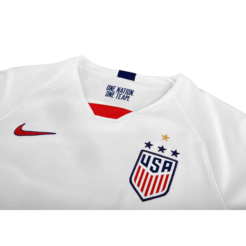 1a7860b68a5 2019 Kids Tobin Heath USWNT Home Jersey - Soccer Master