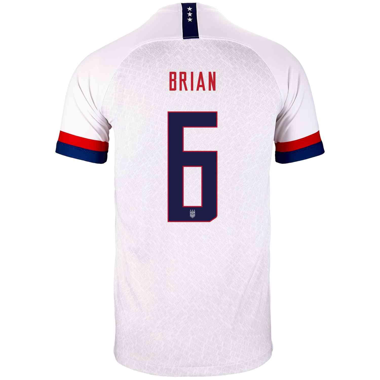 2019 Kids Morgan Brian USWNT Home Jersey - Soccer Master