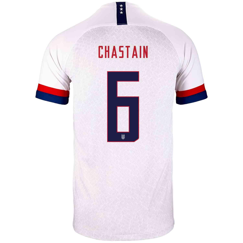 quality design 76029 8c90b 2019 Kids Brandi Chastain USWNT Home Jersey