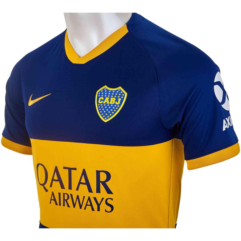 size 40 1c058 92bca Boca Juniors Home Jersey - 2019/20 - Soccer Master