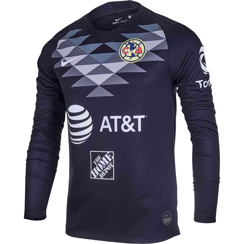 huge discount 88981 d735c 2019/20 Nike Club America L/S Goalkeeper Jersey