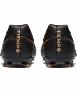 detailed look 0d0f1 a6573 Kids Nike Tiempo Legend 7 Club FG - Black Lux - Soccer Master