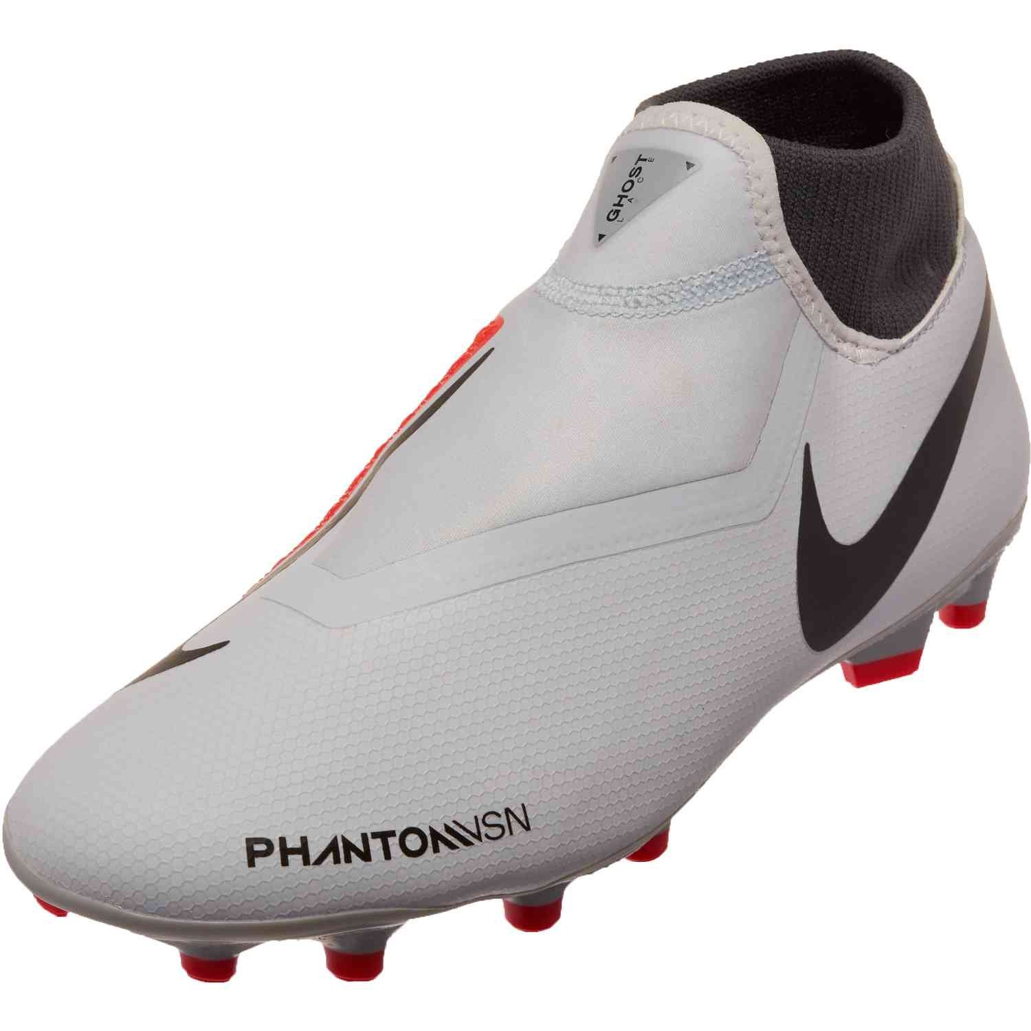 online retailer 976fa cf627 Nike Phantom Vision Academy MG – Pure Platinum Black Light Crimson Dark Grey
