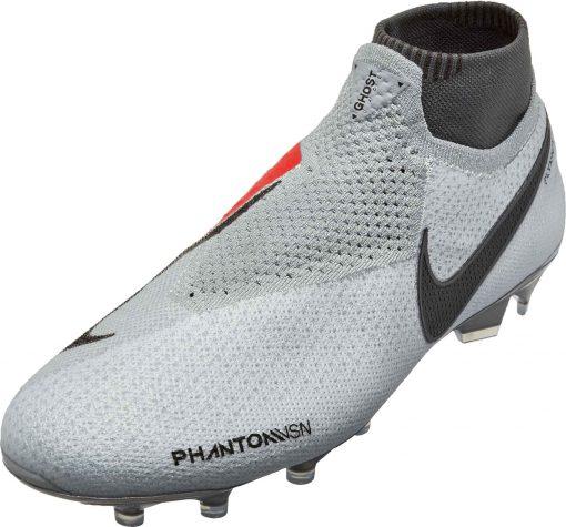 13190c272 Nike Phantom Vision Elite FG – Pure Platinum Black Light Crimson Dark Grey
