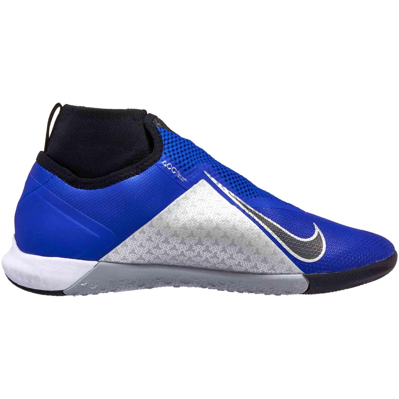 2ab57c61220474 Nike Phantom Vision Pro IC - Racer Blue Black Metallic Silver Volt ...