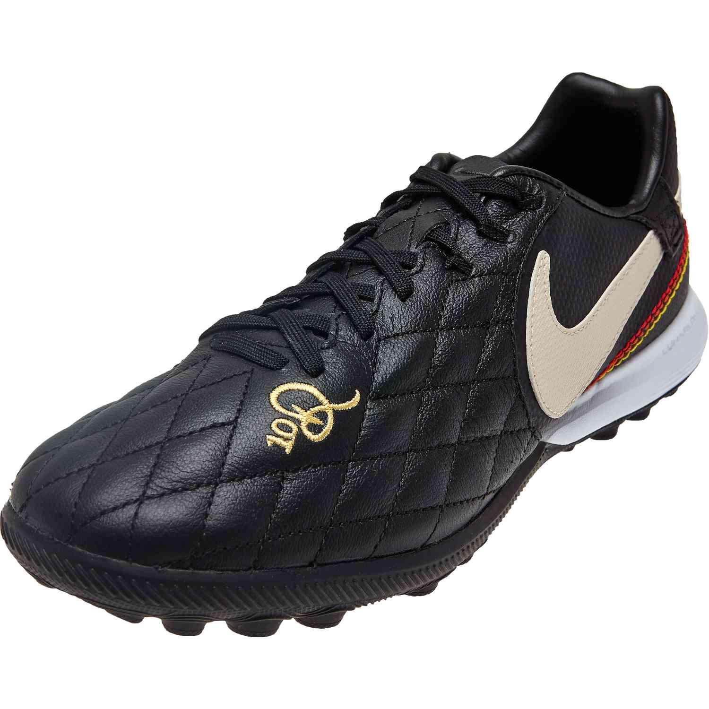 Boquilla Cereal Descriptivo  Nike 10R TiempoX Lunar Legend 7 TF - Black - Soccer Master