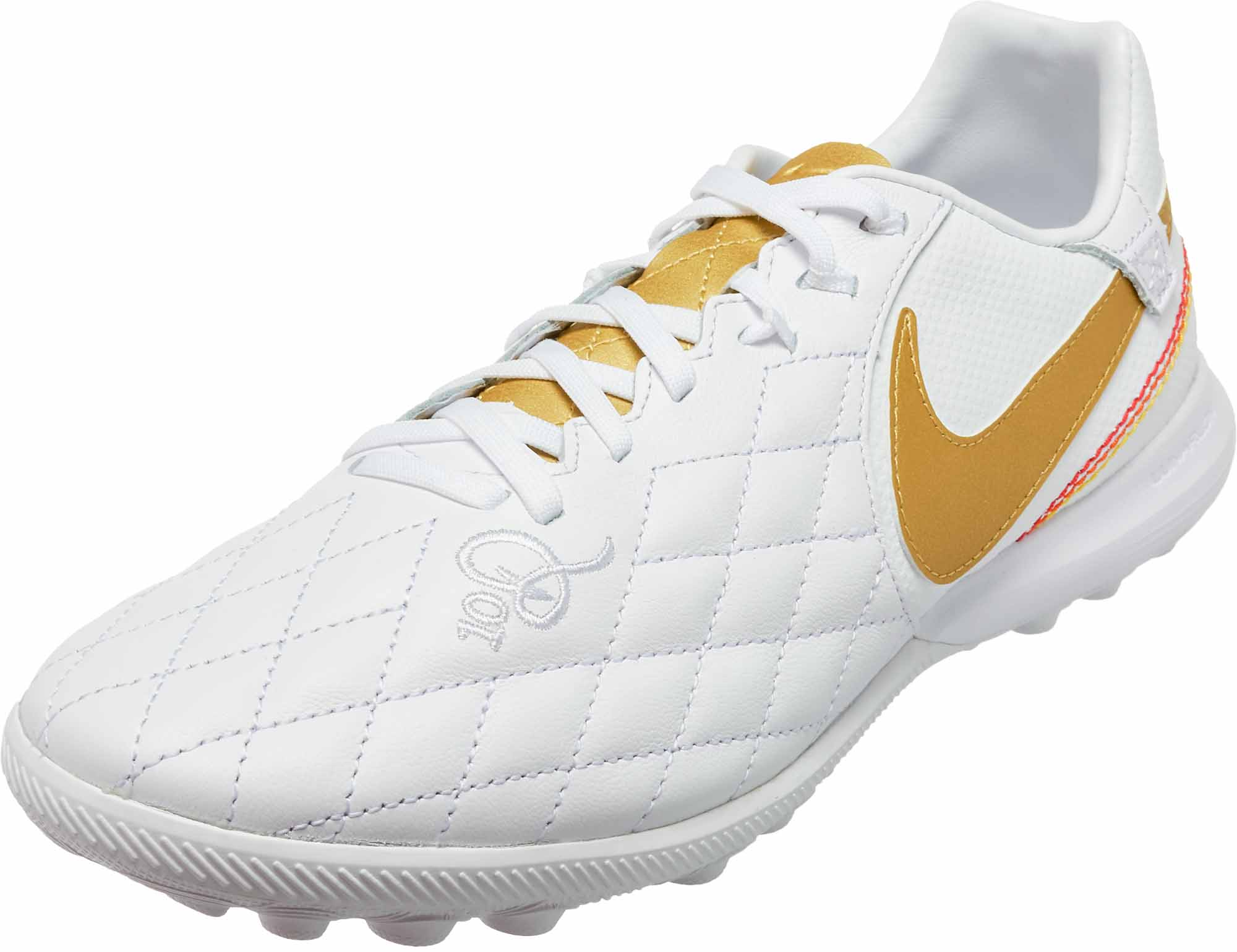 buy online af18e 1dd79 Nike Lunar LegendX 7 Pro TF - 10R - White/Metallic Gold ...