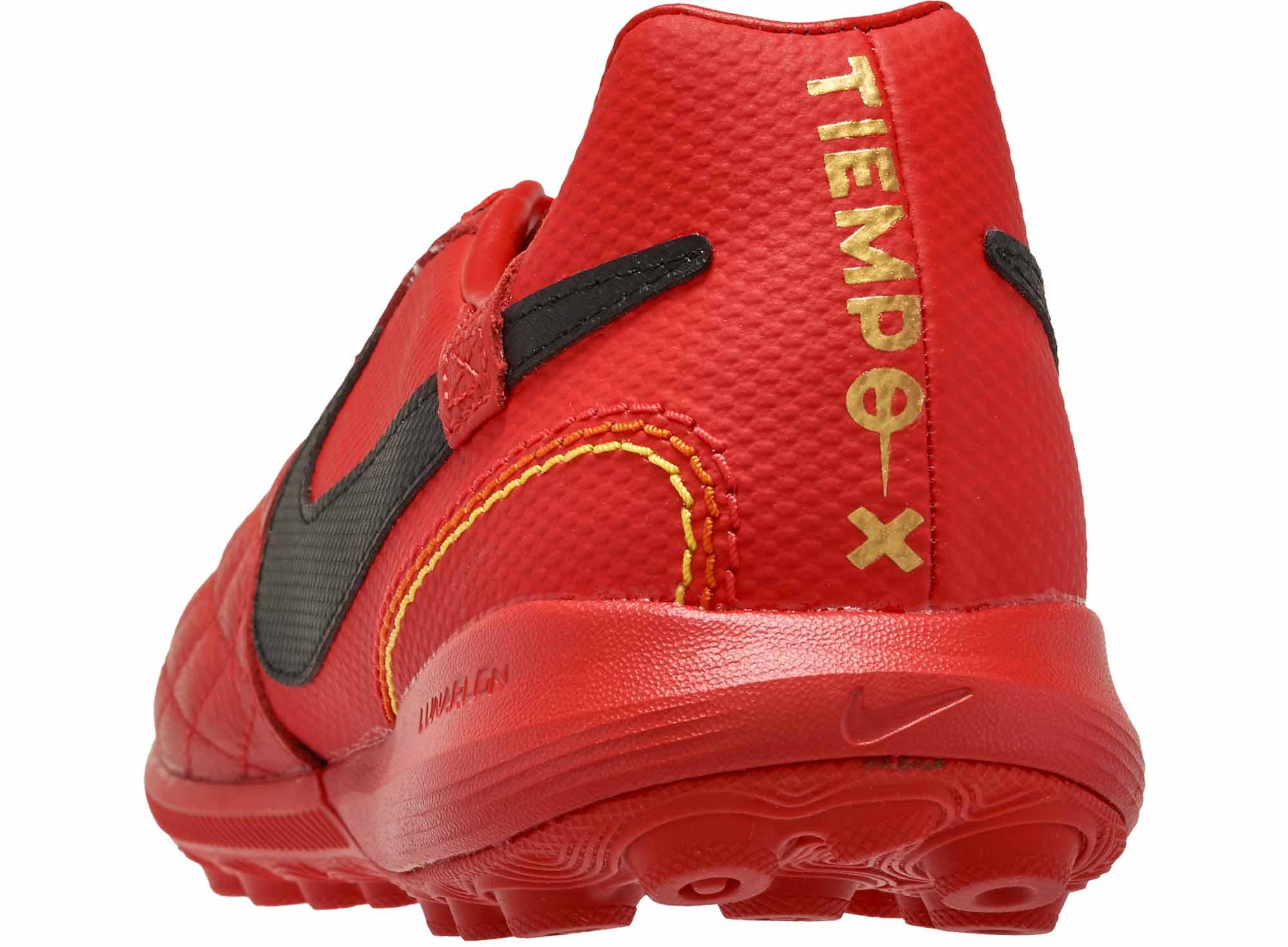 escritorio solo literalmente  Nike 10R TiempoX Lunar Legend 7 Pro TF - University Red/Black/Metallic Gold  - Soccer Master