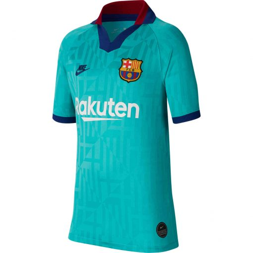 another chance e29f6 57086 2019/20 Kids Nike Barcelona 3rd Jersey