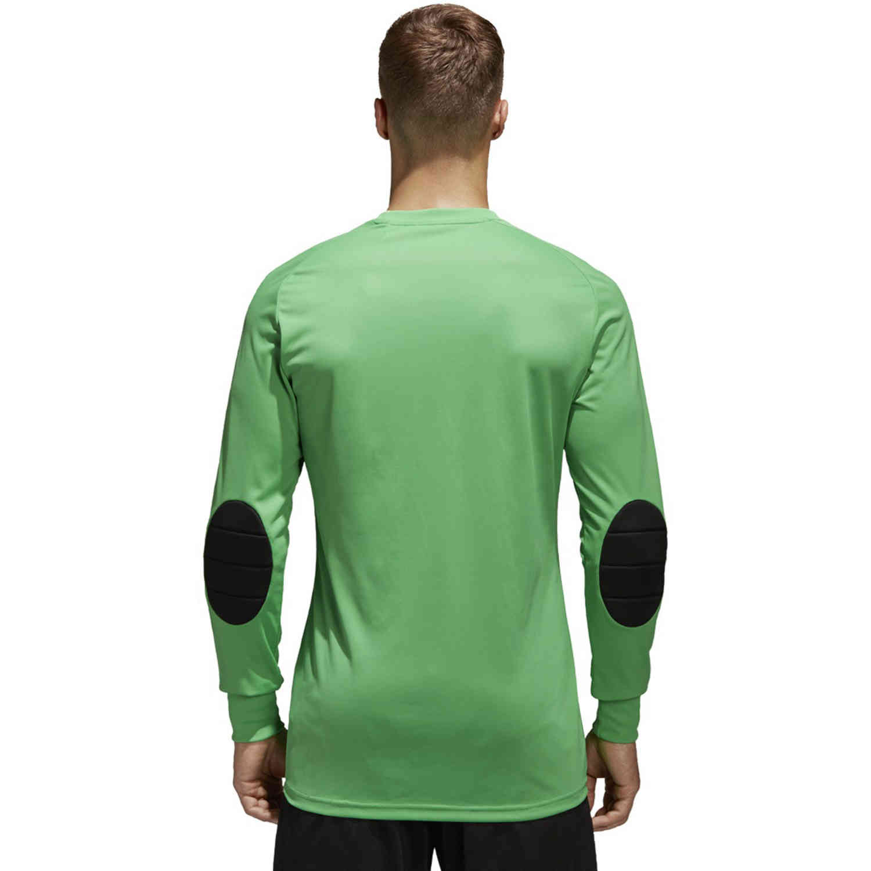 adidas Assita 17 Goalkeeper Jersey - Energy Green & White - Soccer ...