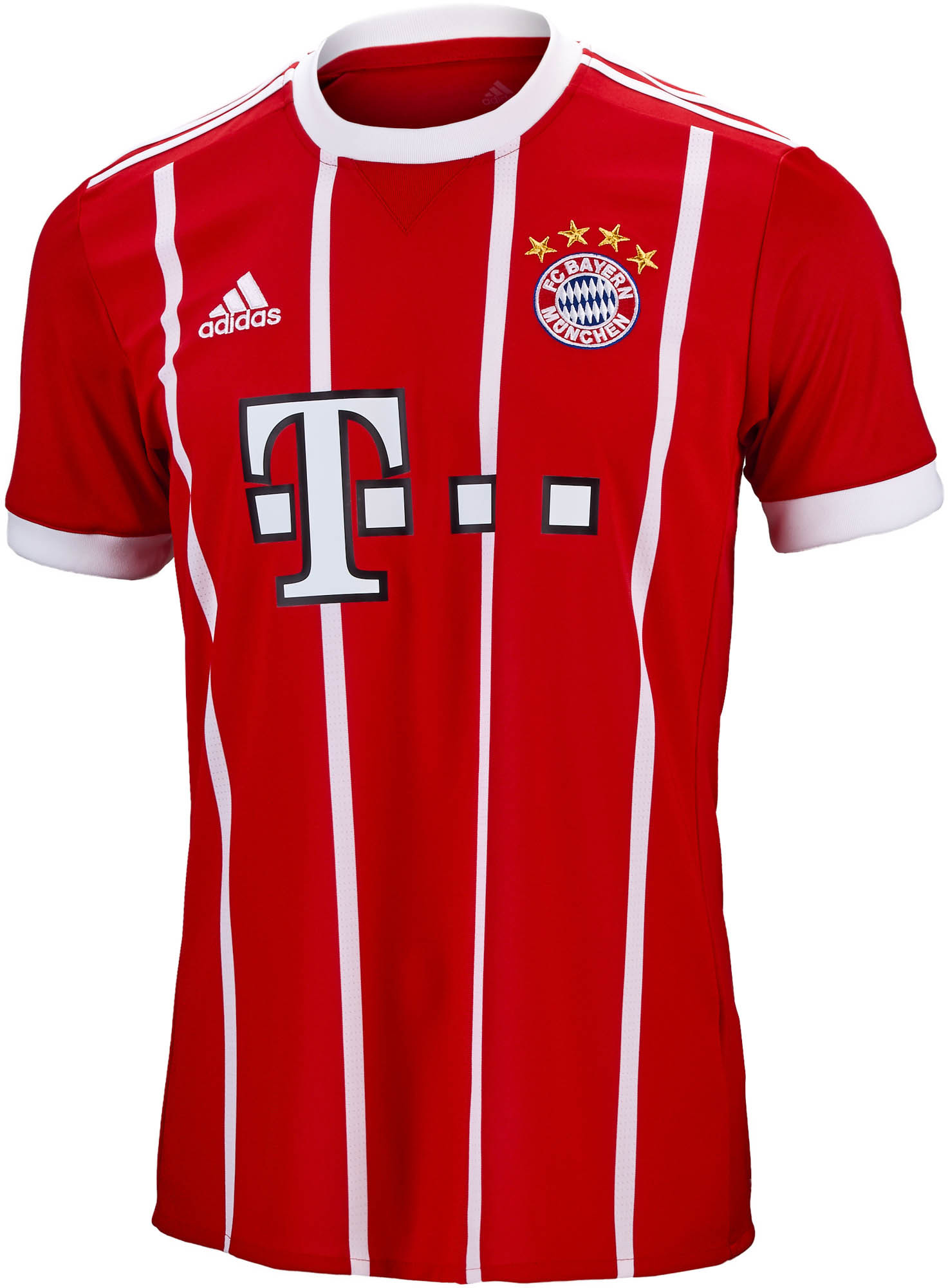 2017 18 adidas bayern munich home jersey soccer master. Black Bedroom Furniture Sets. Home Design Ideas