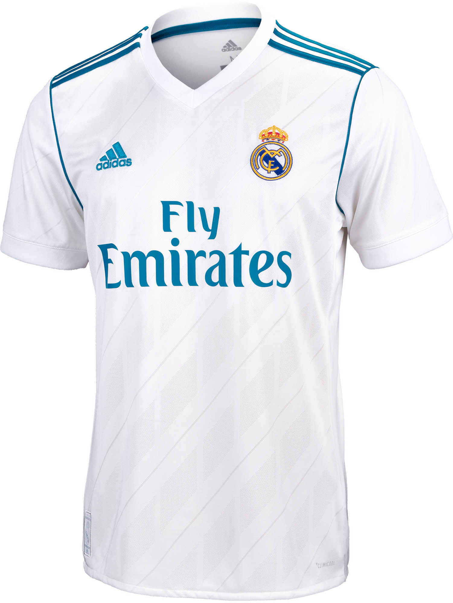3ab0b338d27 adidas Real Madrid Authentic Home Jersey 2017-18 NS - Soccer Master