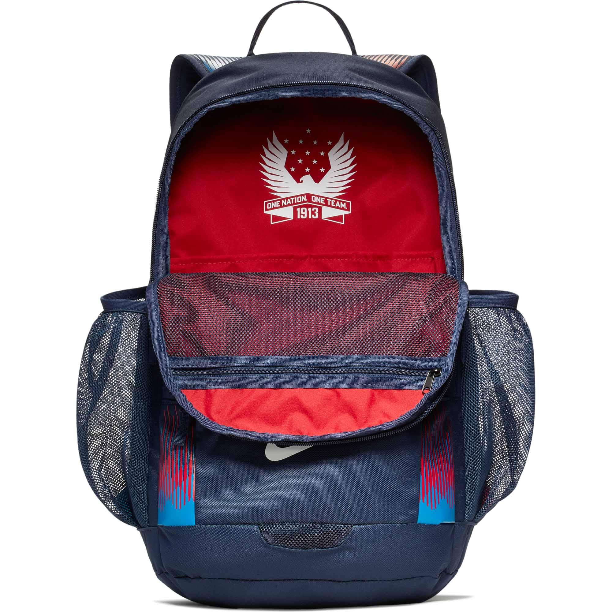 Nike USA Backpack - Midnight Navy/White - Soccer Master
