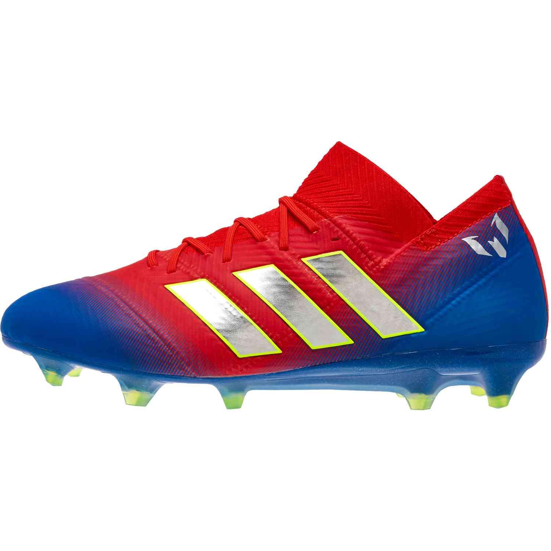 50f84efc4 adidas Nemeziz MESSI 18.1 FG - Initiator Pack - Soccer Master