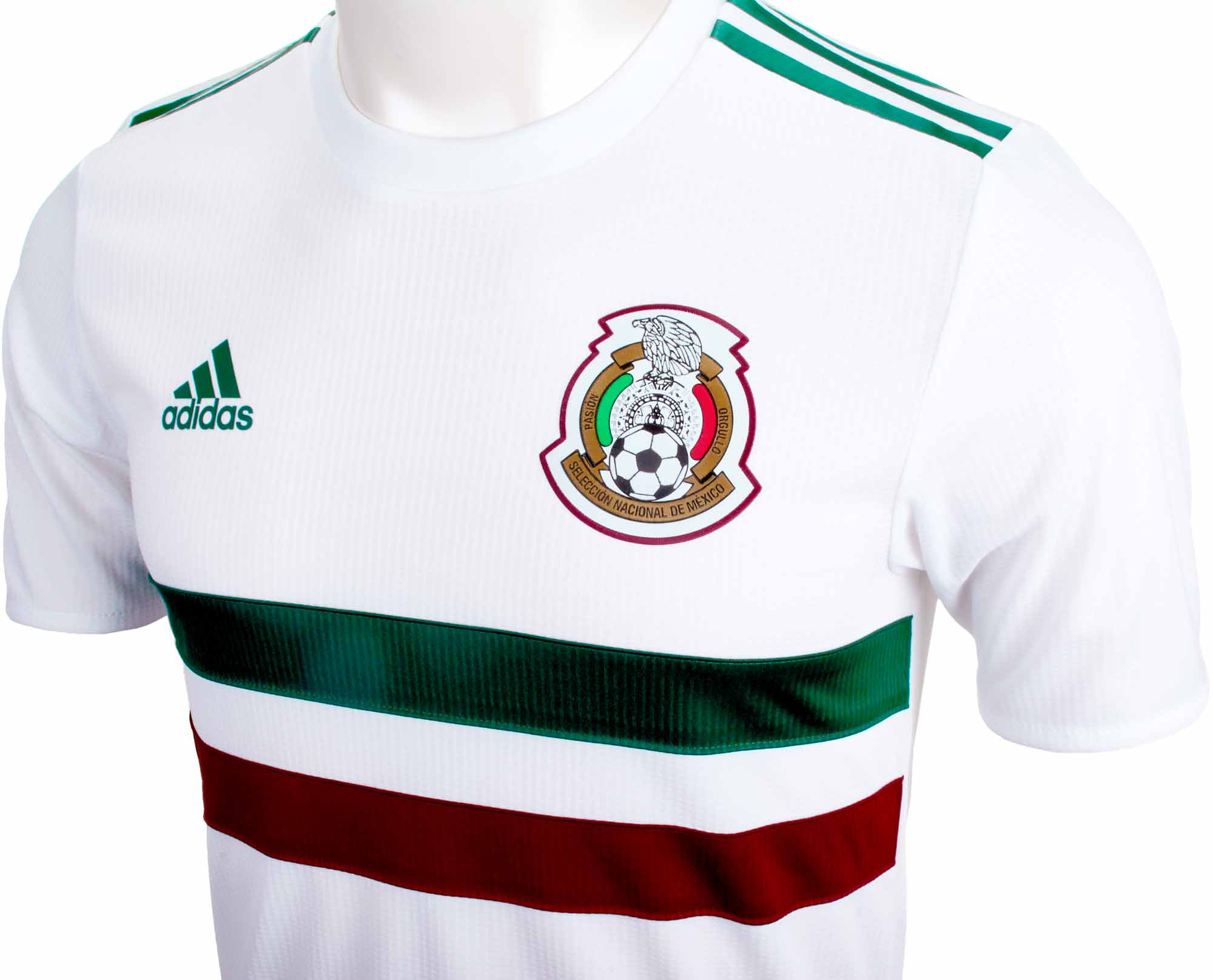 reputable site 61d7d 83fa3 adidas Mexico Authentic Away Jersey 2018-19 NS - Soccer Master