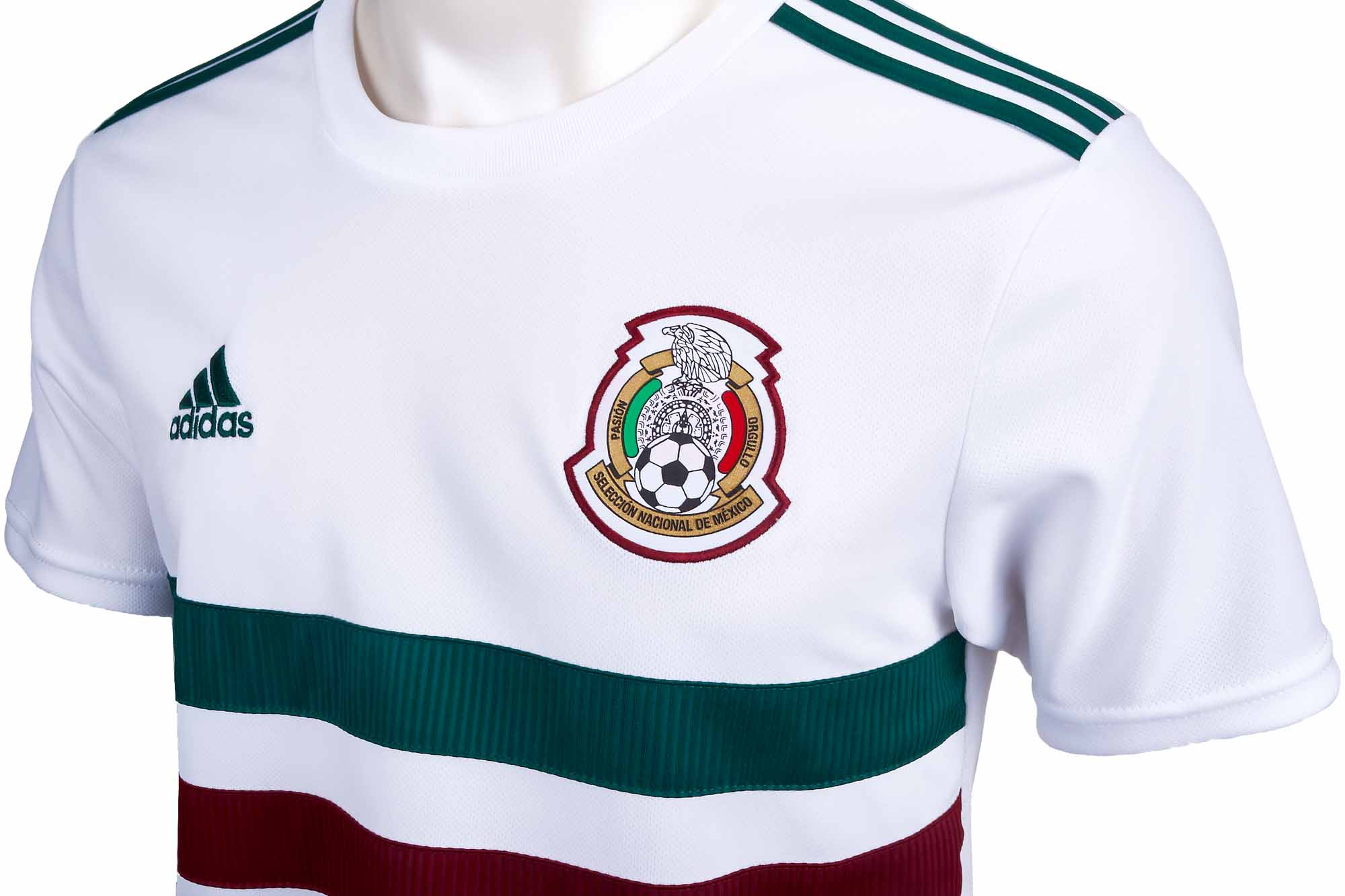 adidas Mexico Away Jersey - Youth 2018-19 - Soccer Master