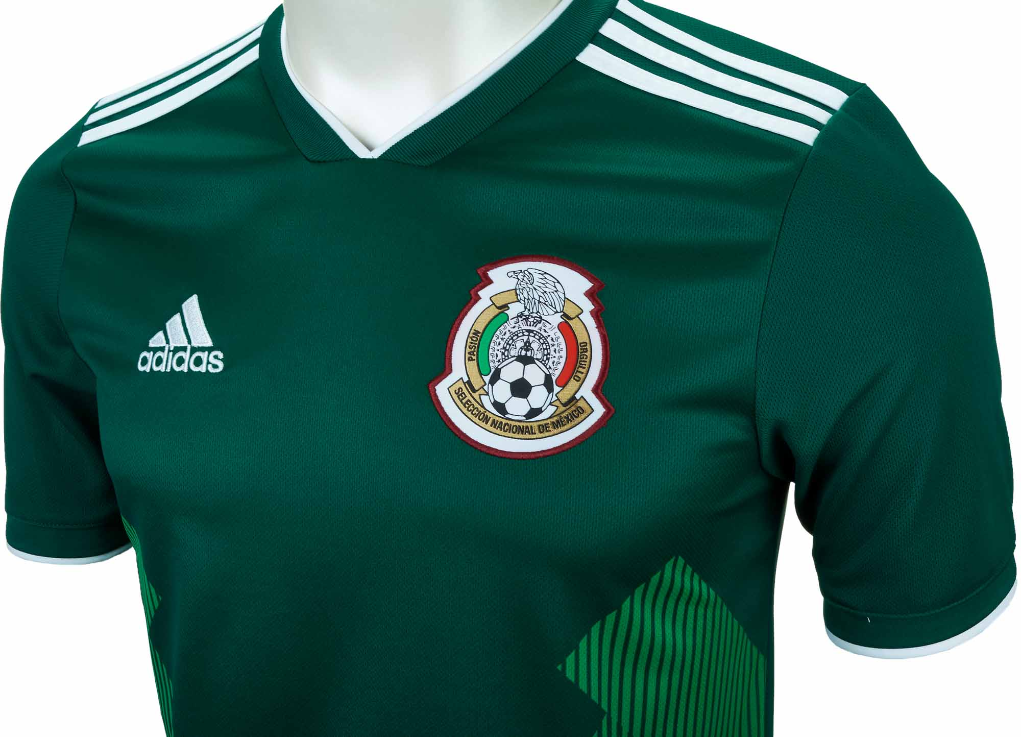 aefd88d52 Kids 2018 19 adidas Mexico Home Jersey - Soccer Master