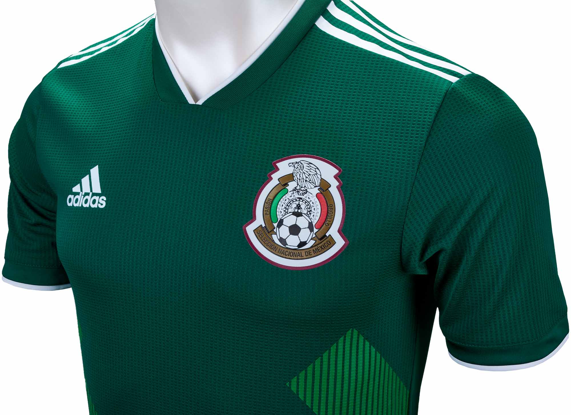 3caa30189a7 adidas Mexico Authentic Home Jersey 2018-19 NS - Soccer Master