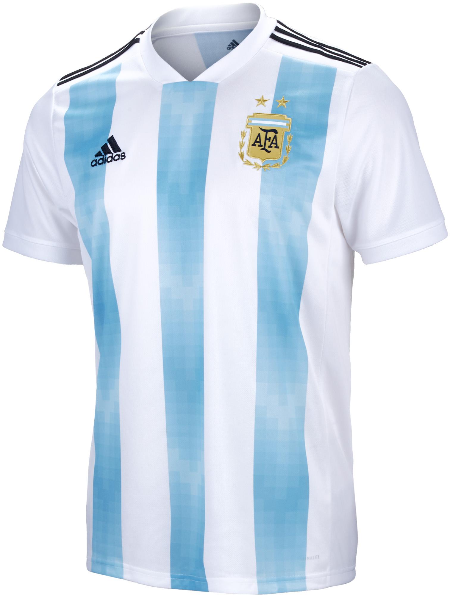 cdc140a1027 adidas Kids Argentina Home Jersey 2018-19 - Soccer Master