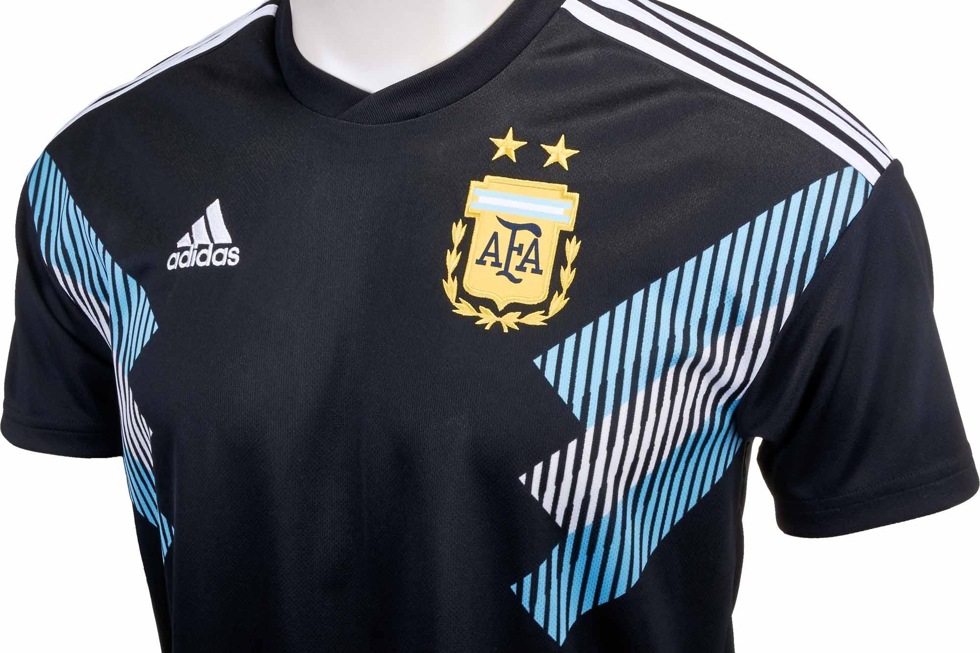 7c425843a adidas Kids Argentina Away Jersey 2018-19 - Soccer Master