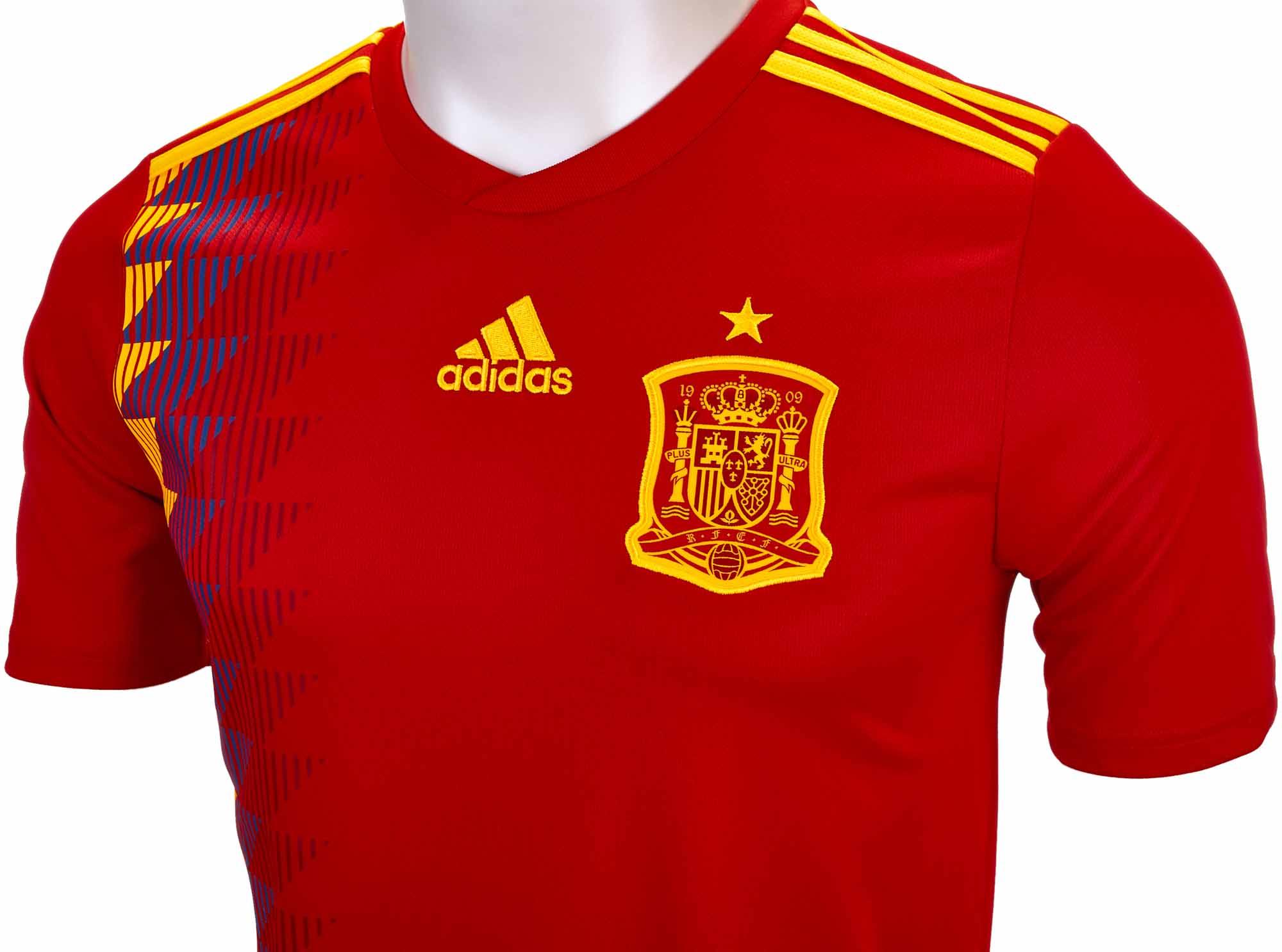 Mayor estático conferencia  2018/19 Kids adidas Spain Home Jersey - Soccer Master