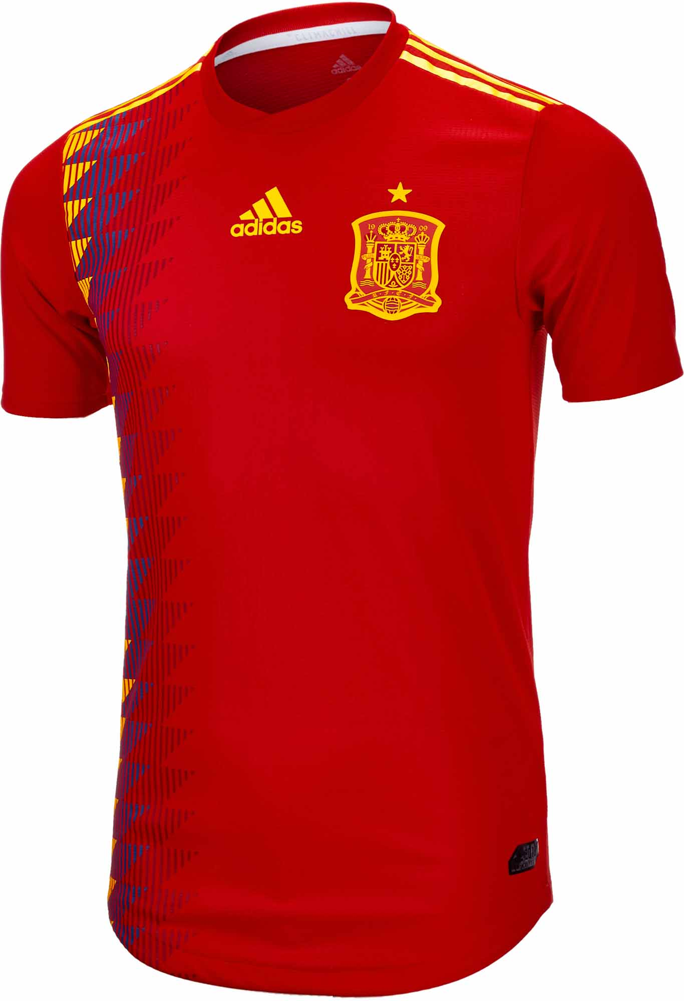 2018/19 adidas Spain Authentic Home Jersey - Soccer Master - photo#39