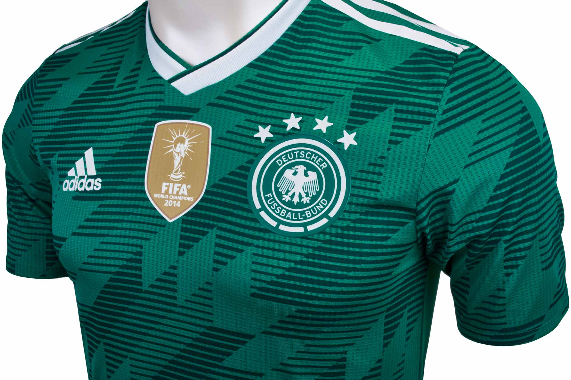 adidas Germany Authentic Away Jersey 2018-19 - Soccer Master