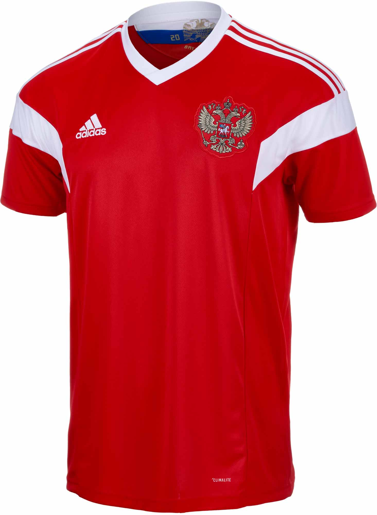 3f37c7725 2018 19 adidas Russia Home Jersey - Soccer Master