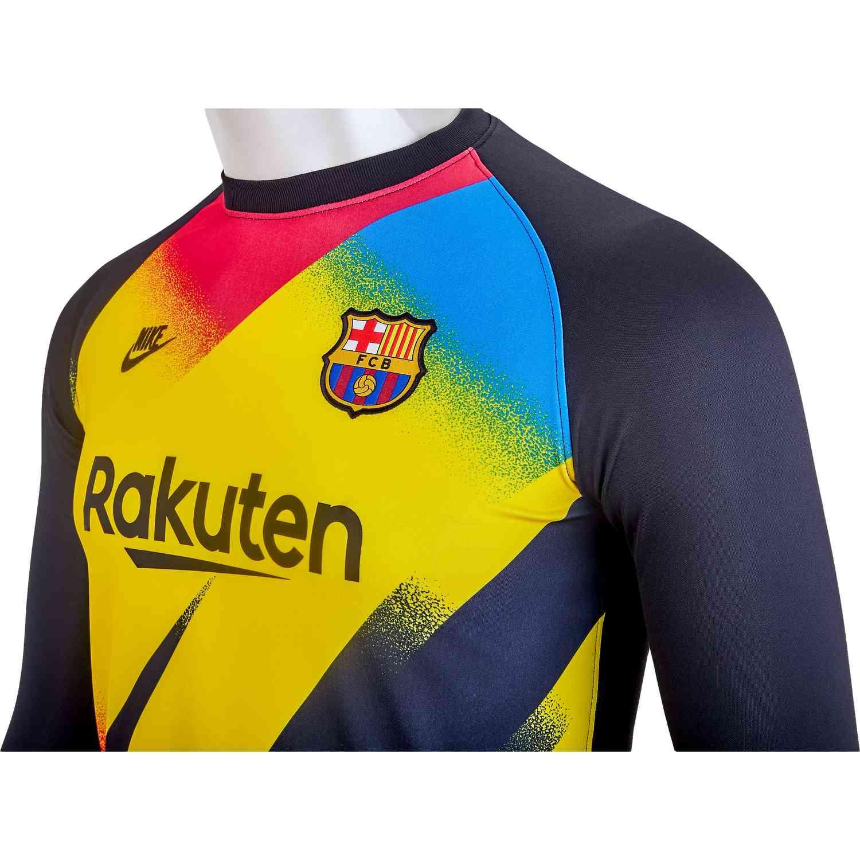 pretty nice 51cce de255 Kids Nike Barcelona Goalkeeper Jersey - 2019/20 - Soccer Master
