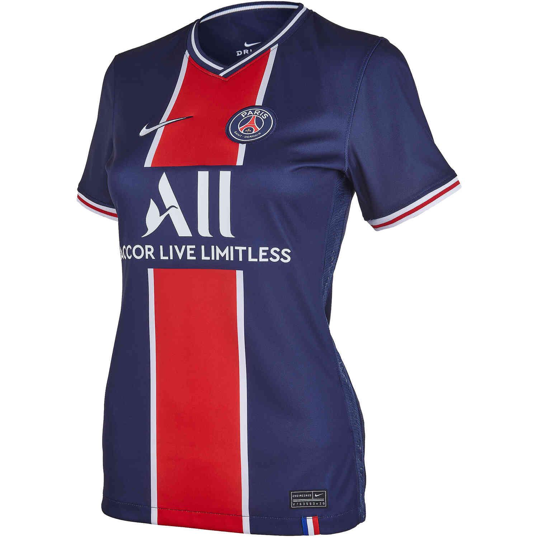 Womens Psg Home Stadium Jersey 2020 21 Soccer Master