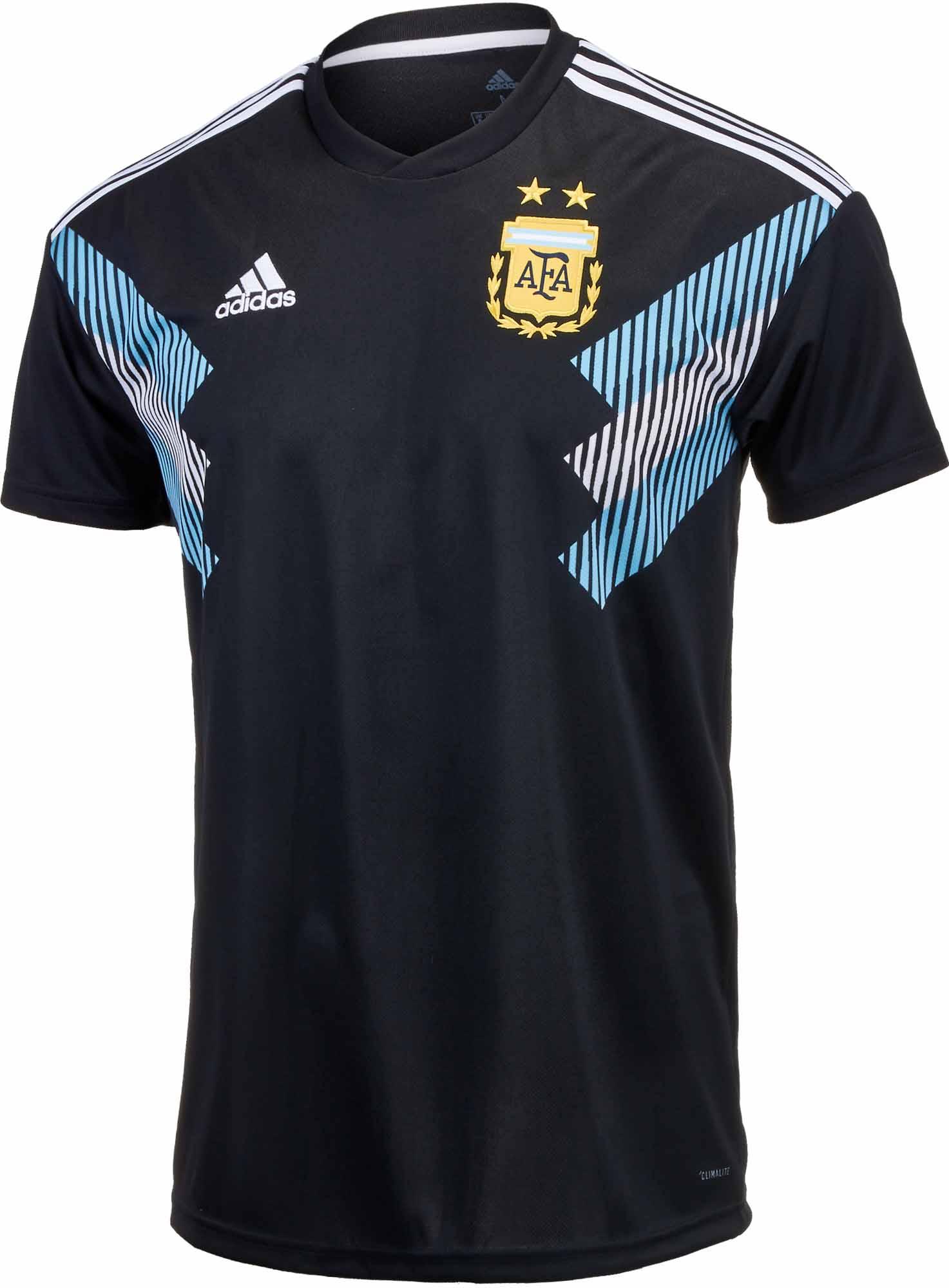 Adidas argentina away jersey 2018 19 Soccer Master