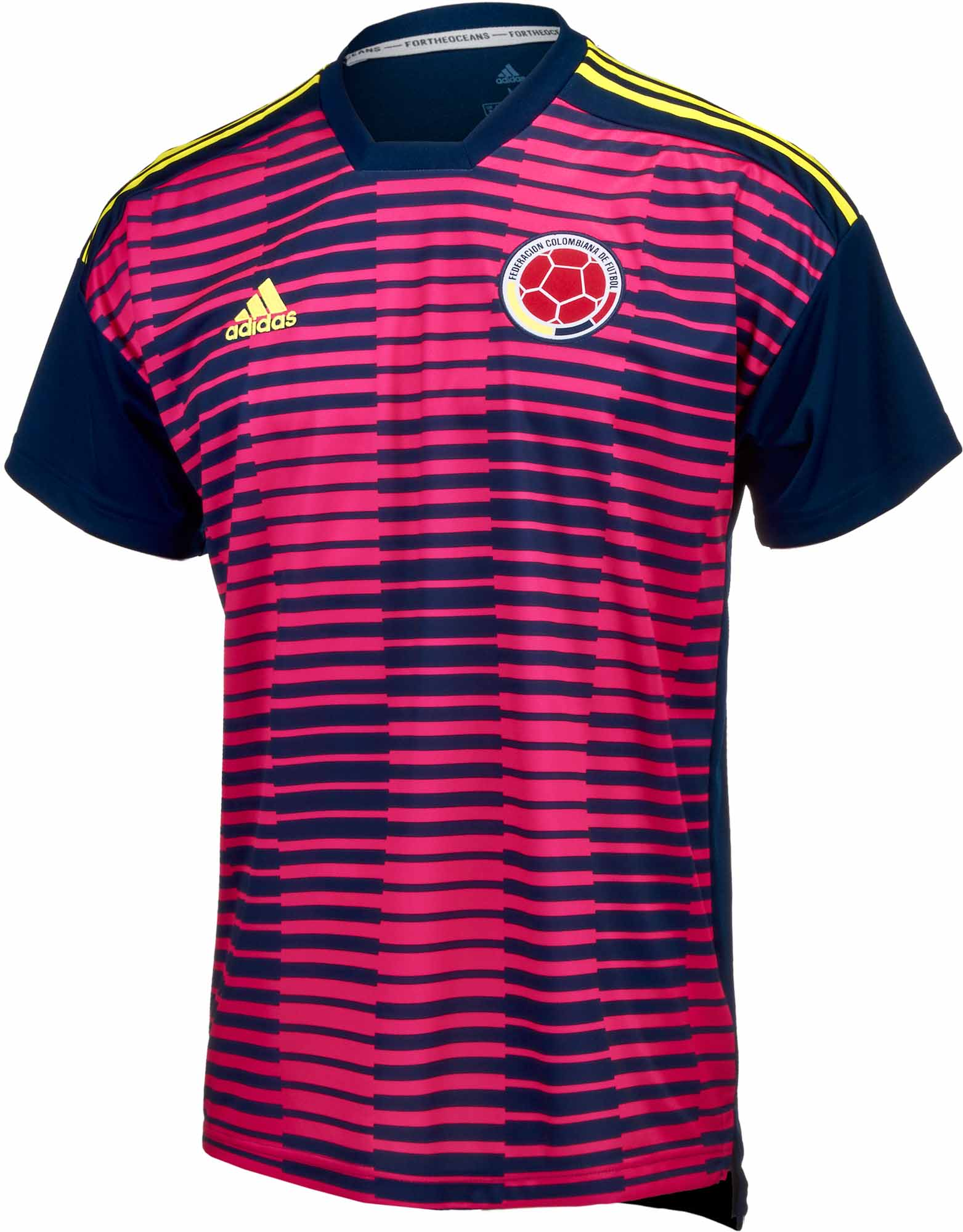 0b90f445587 adidas Colombia Pre-match Jersey 2018-19 - Soccer Master