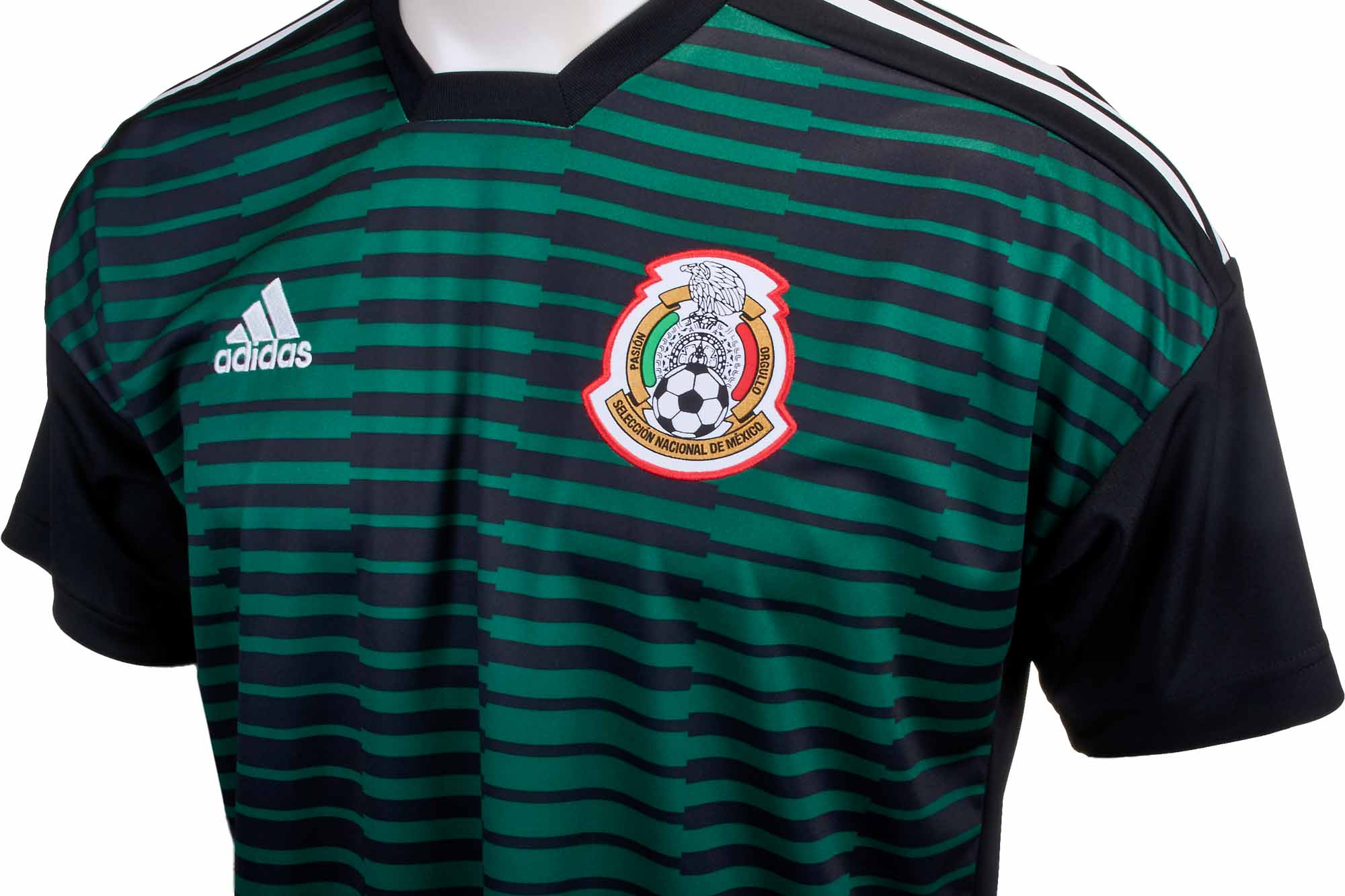 adidas Mexico Pre-Match Jersey - Youth 2018-19 - Soccer Master