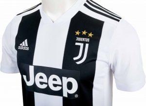 adidas Juventus Home Jersey - Youth - Black/White - Soccer Master