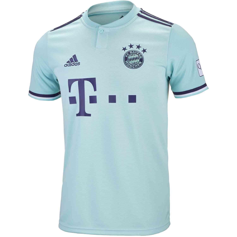 e808fe26f 2018-19 adidas Bayern Munich Away Jersey - Soccer Master
