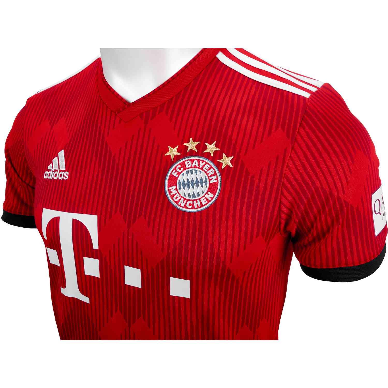 2018 19 Kids Adidas Bayern Munich Home Jersey Soccer Master