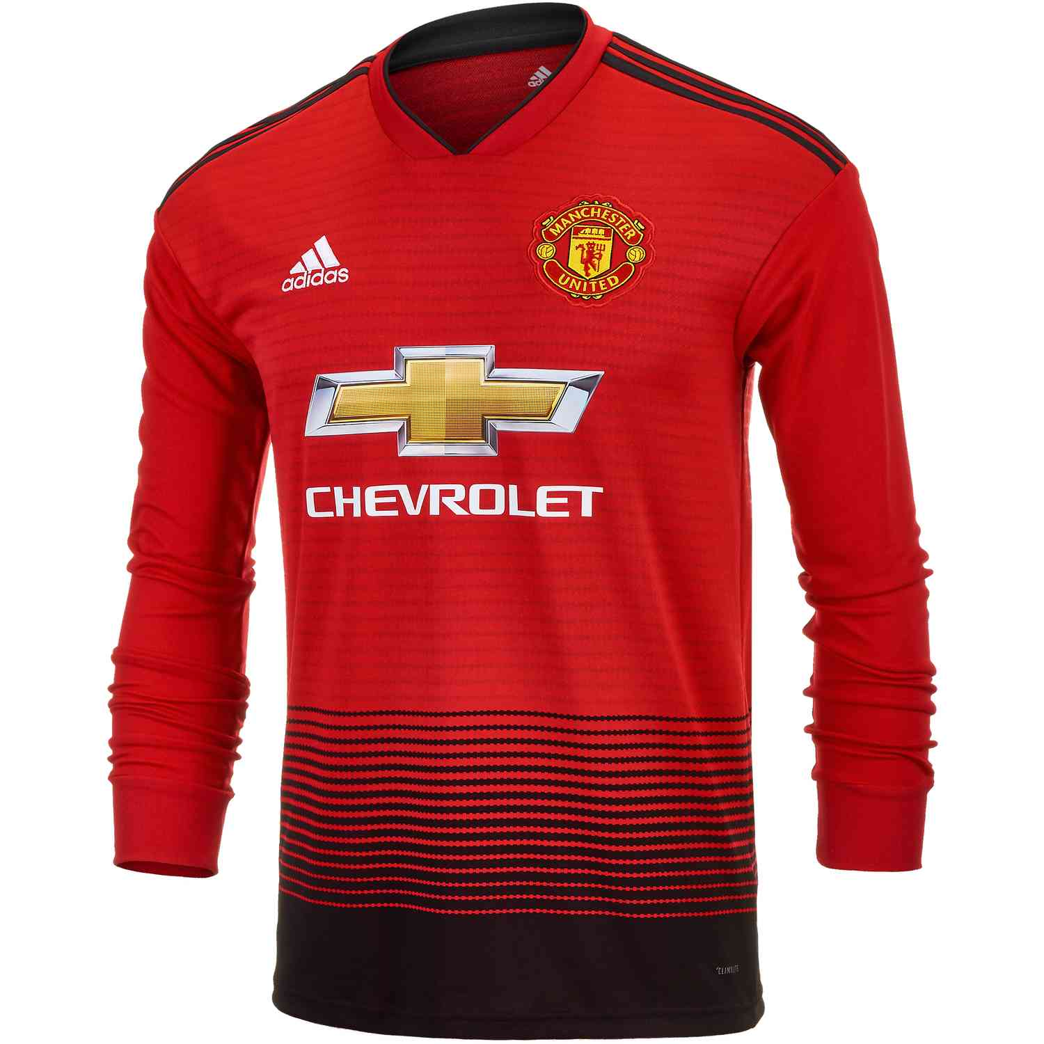 timeless design 5fea7 d610e adidas Manchester United Home L/S Jersey 2018-19 - Soccer ...