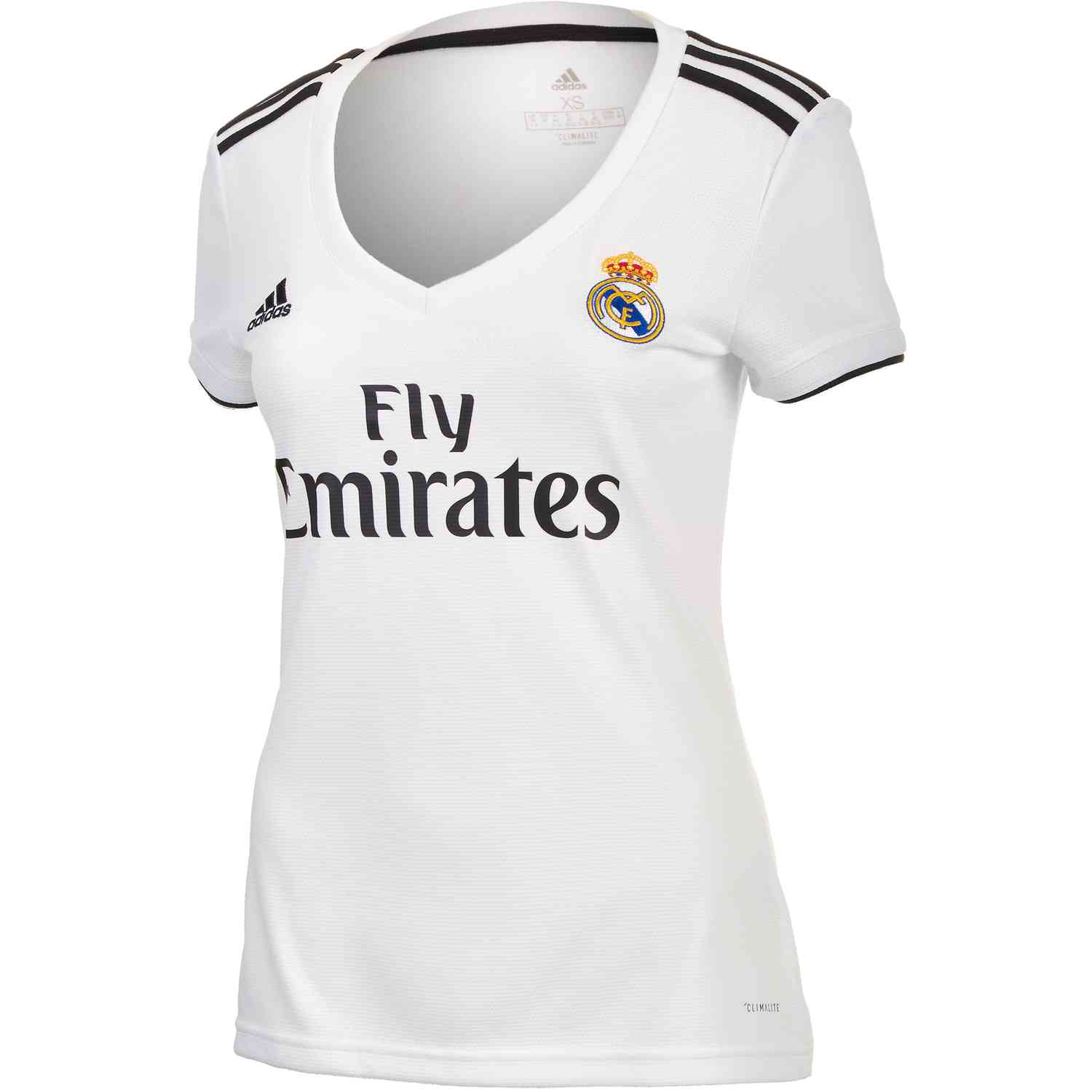 finest selection 50fcc a7bb2 adidas Real Madrid Home Jersey - Womens 2018-19