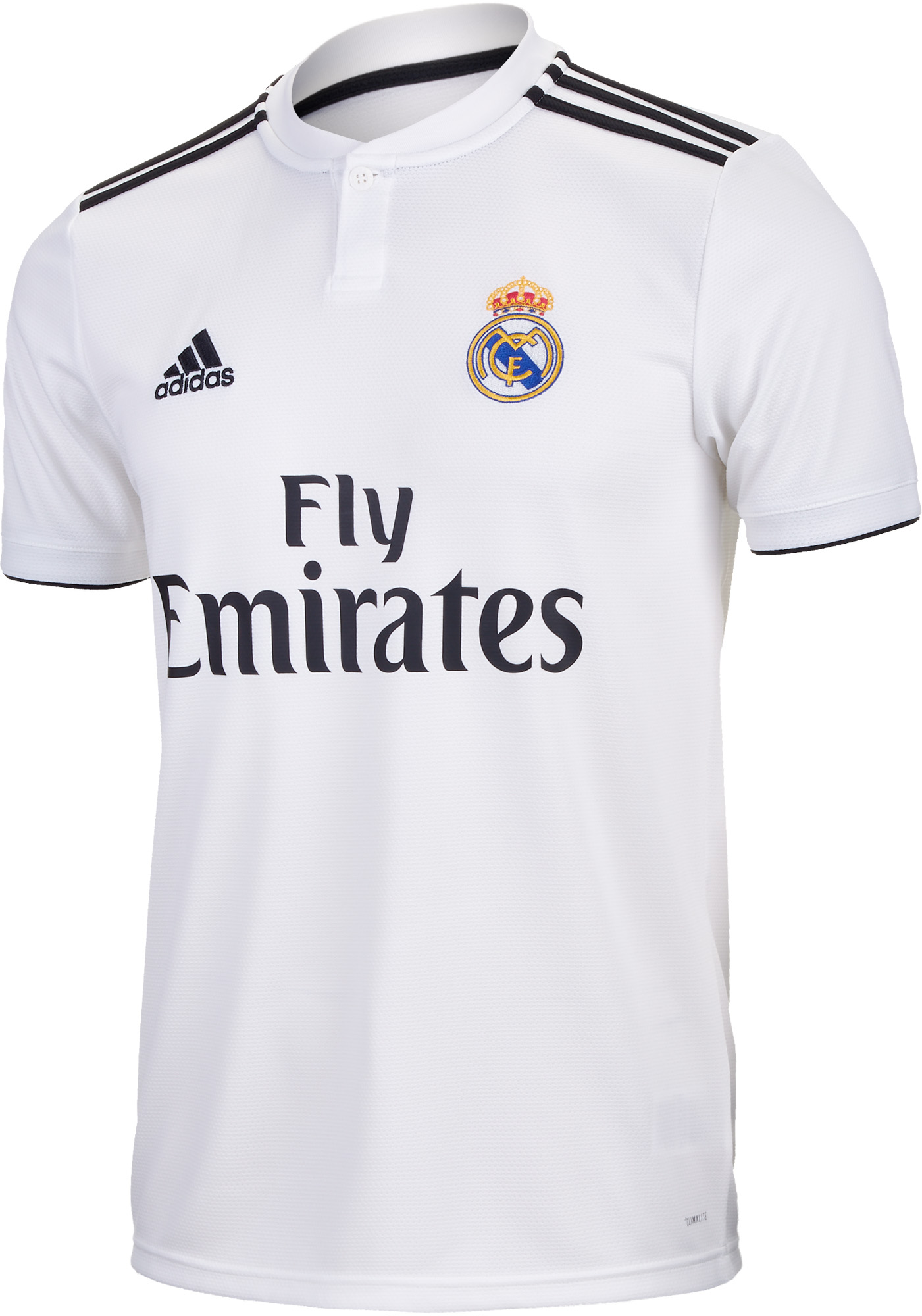 adidas Real Madrid Home Jersey - Youth - Core White/Black