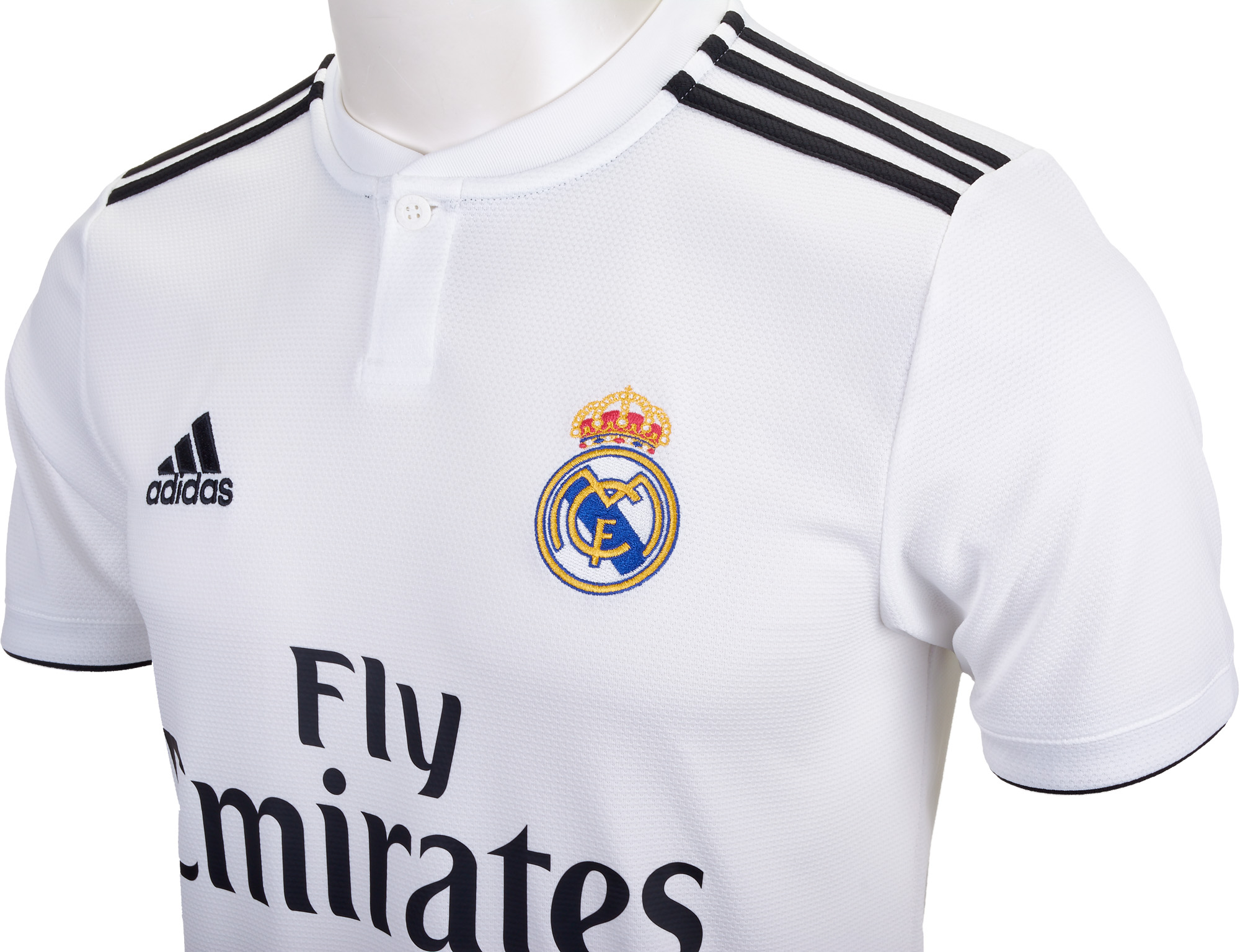 Kids 2018/19 adidas Real Madrid Home Jersey - Soccer Master