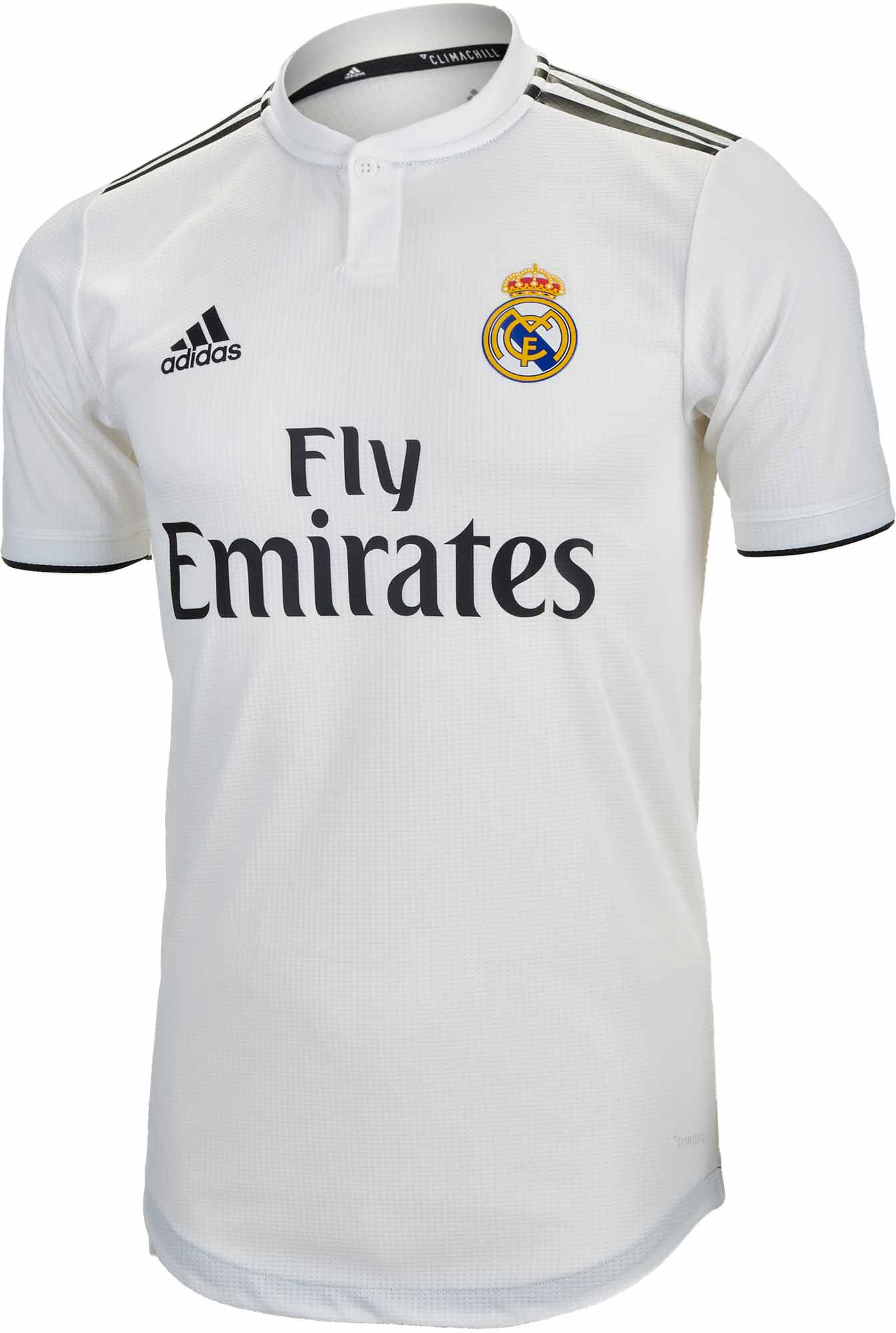 df14c870c 2018 19 adidas Real Madrid Home Authentic Jersey - Soccer Master