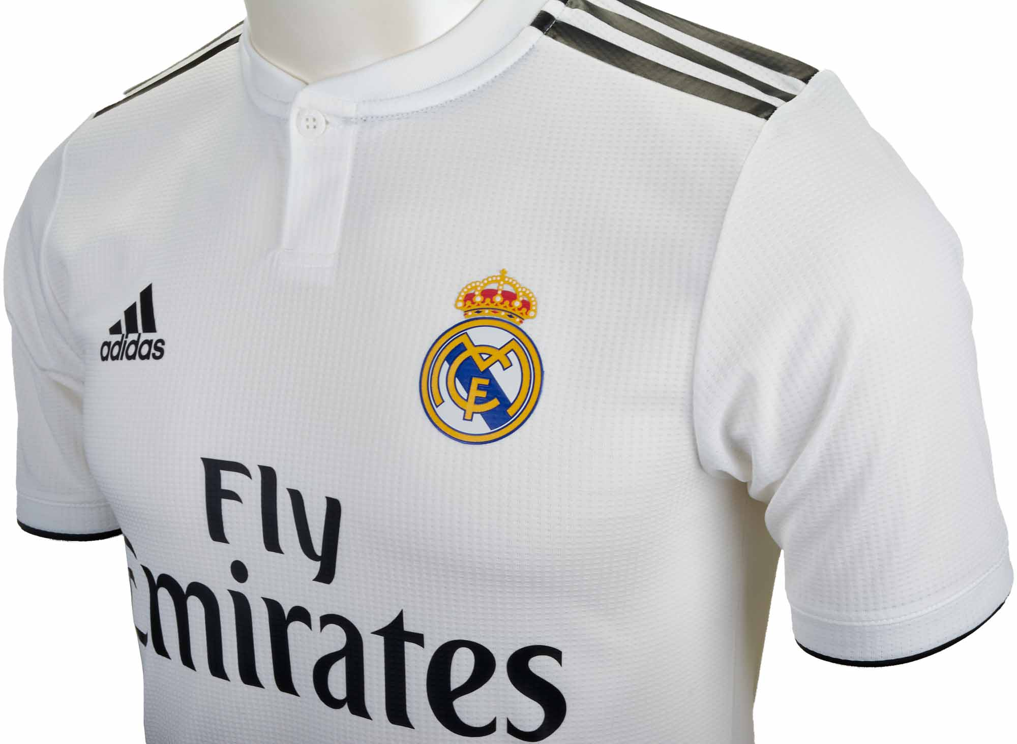 201819 adidas Real Madrid Home Authentic Jersey Soccer Master