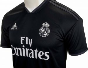 adidas Real Madrid Away Jersey - Tech Onix/White - Soccer Master