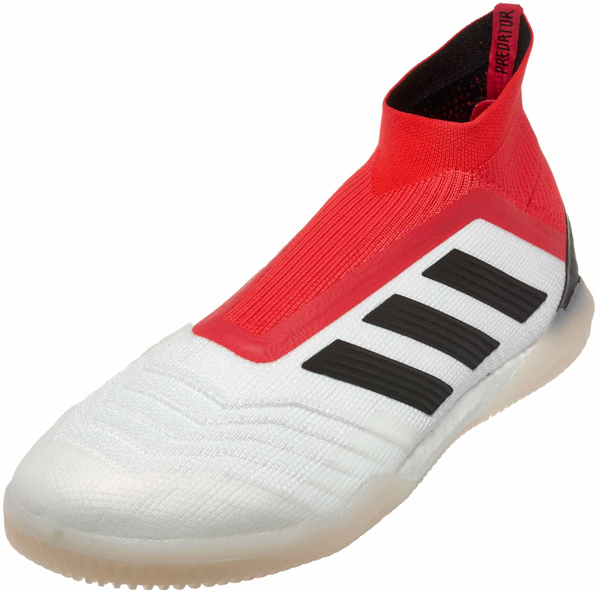 49dadc561a8 adidas Predator Tango 18+ IN - White   Real Coral - Soccer Master