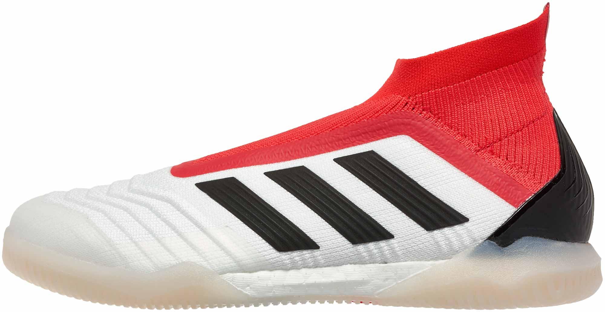 Adidas predator tango 18 + in bianco & reale coral calcio maestro