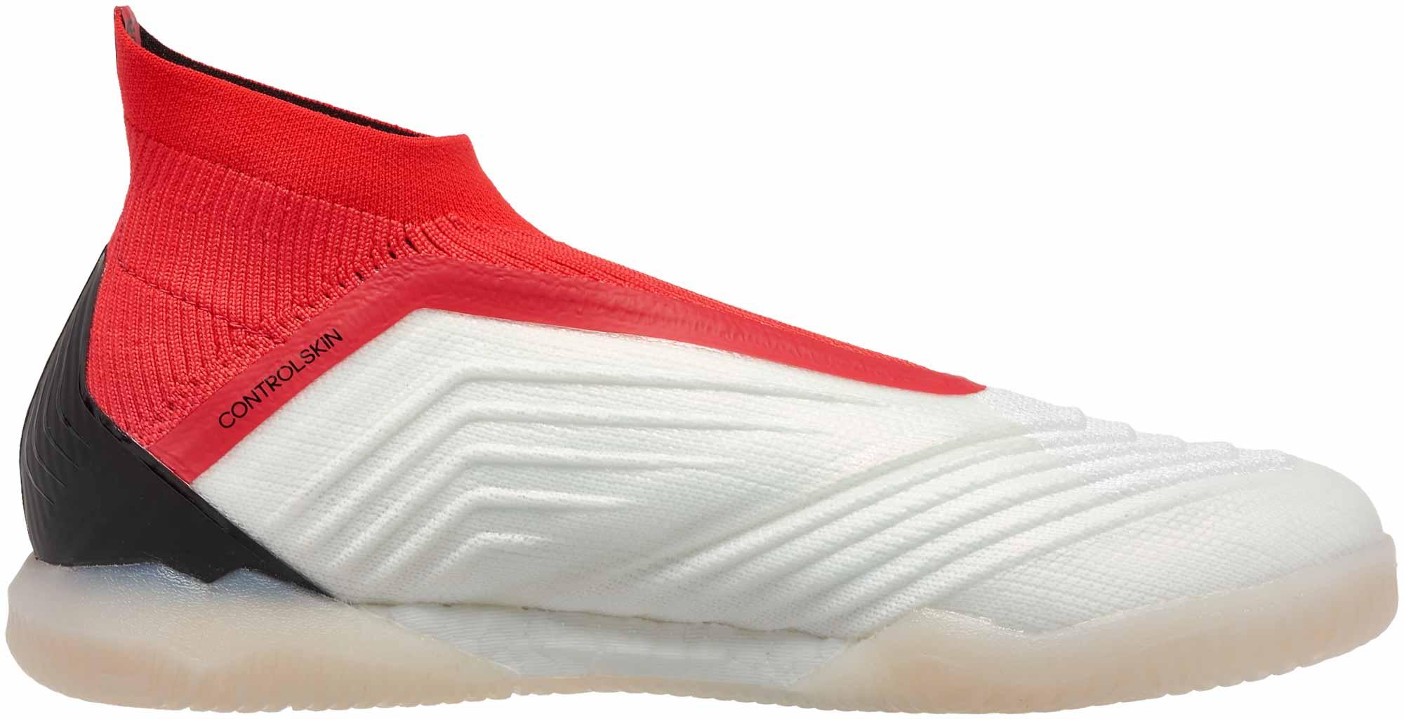 2ea7b27d7 adidas Predator Tango 18+ IN - White   Real Coral - Soccer Master